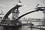 Фоторепортаж: Как строили Коммунальный мост в Красноярске